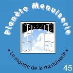 Logo planete menuiserie